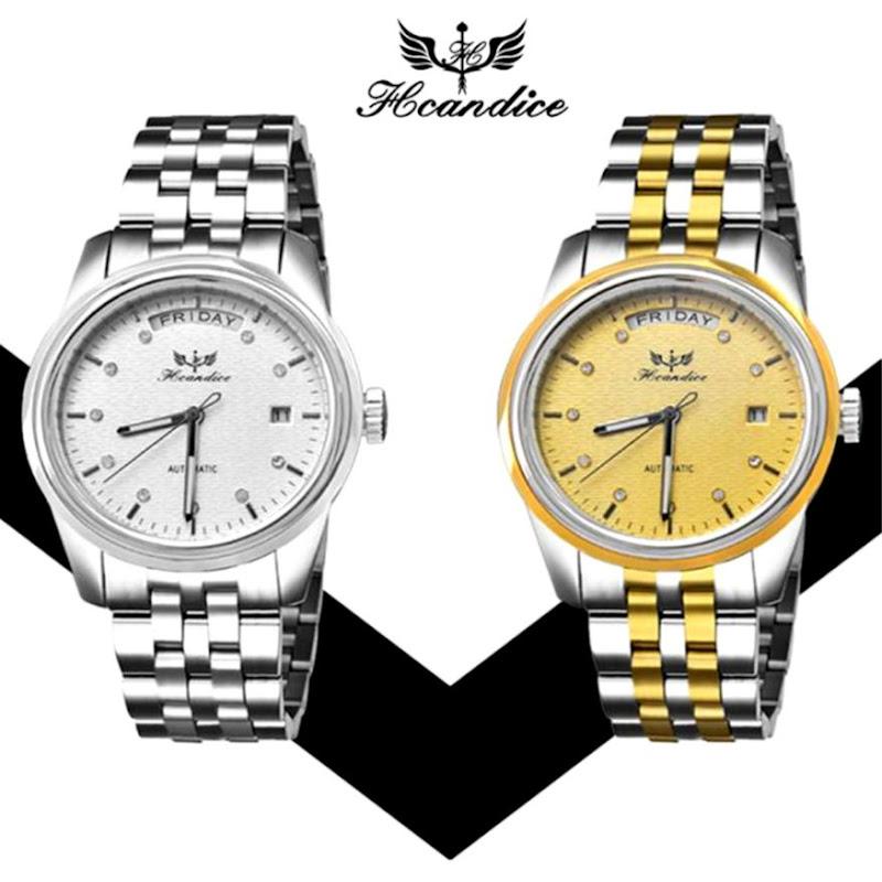 461f01b53eff hombres Del Reloj de Manera Relogio masculino Acero Inoxidable Banda Reloj  de pulsera