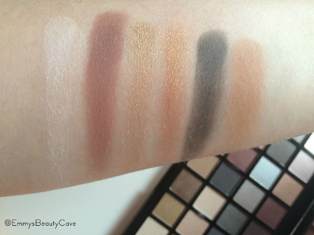 Freedom Innocent Eyeshadow Palette Swatches