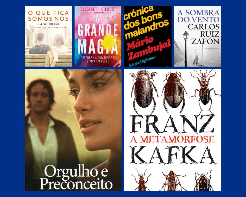 100 sugestões de livros