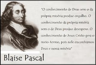 Resultado de imagem para conhecimento de Deus Pascal