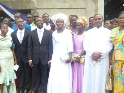 wedding photos of deeper life church sister