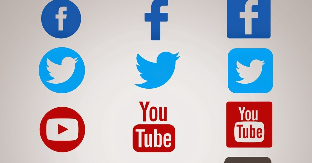 حصريا أيقونات التواصل الاجتماعي بصيغة Psd أكوا ويب