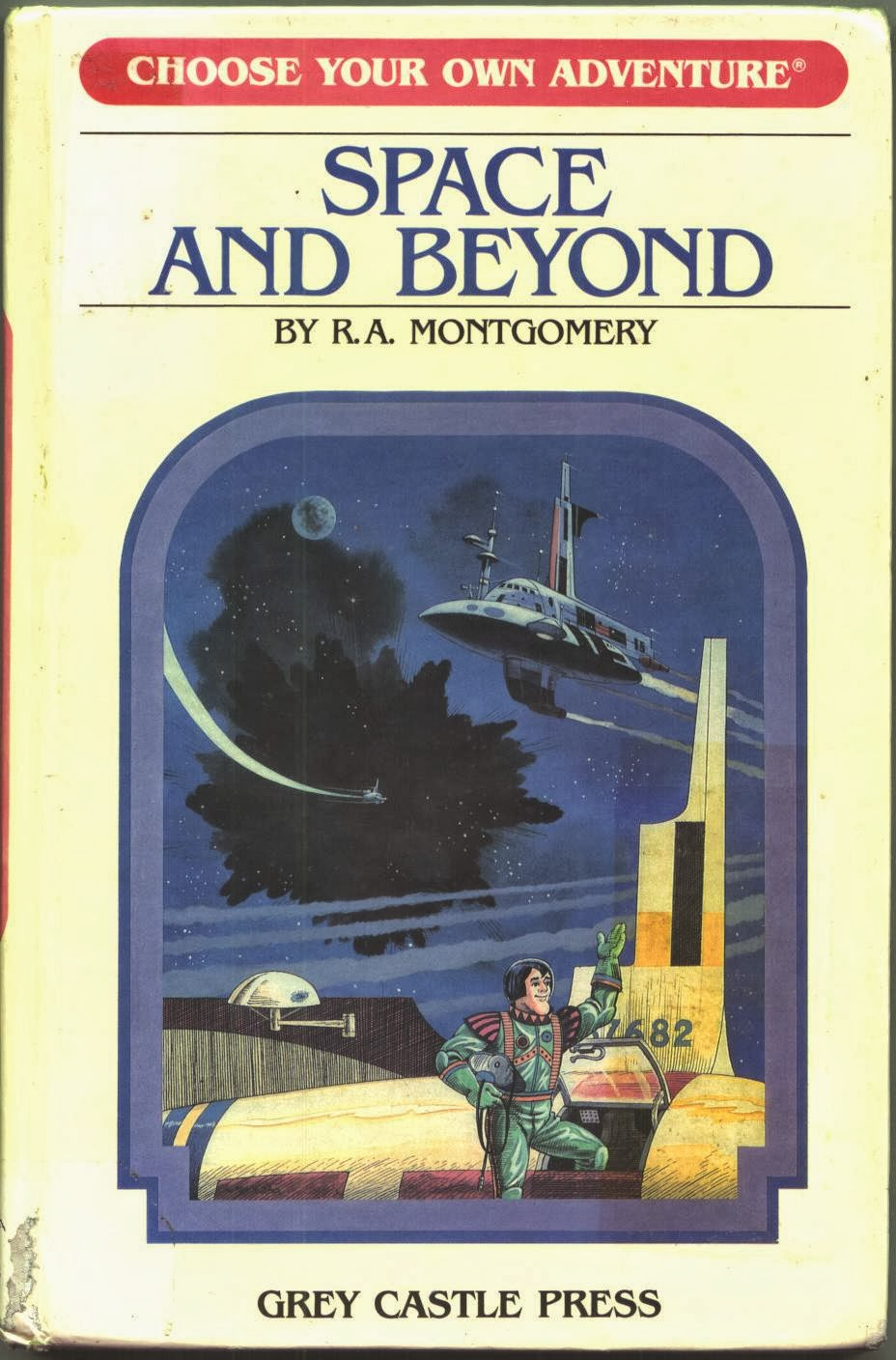 Paperback Hero Choose Your Own Adventure 4 Space And Beyond