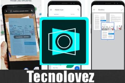 Adobe Scan - Applicazione per scannerizzare un documento con la fotocamera dello smartphone