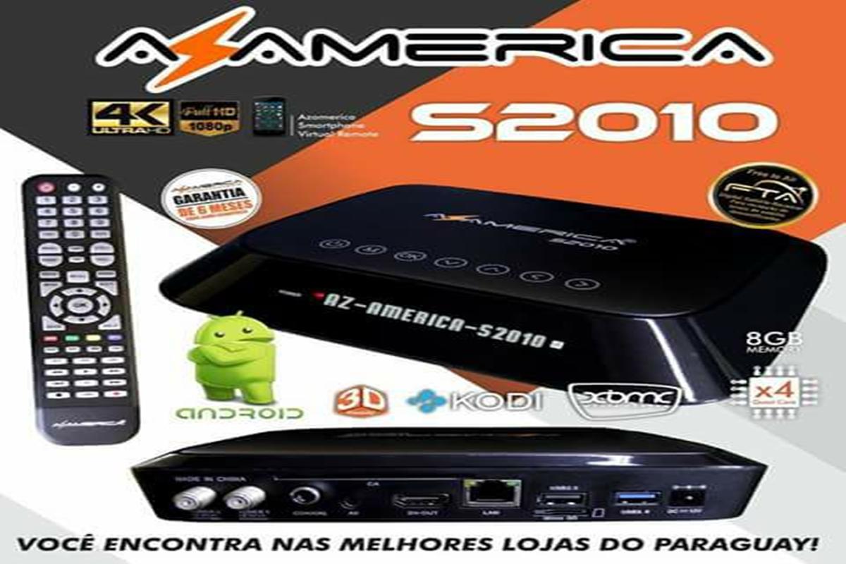 AZAMERICA S2010 NOVA ATUALIZAÇÃO V 3.08