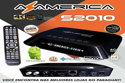 AZAMERICA S2010 ATUALIZAÇÃO 3.10 PACTH SKS 63W - 29/08/2017