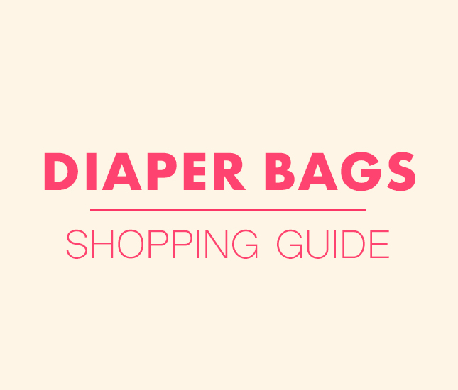 guide to monogrammed diaper bags