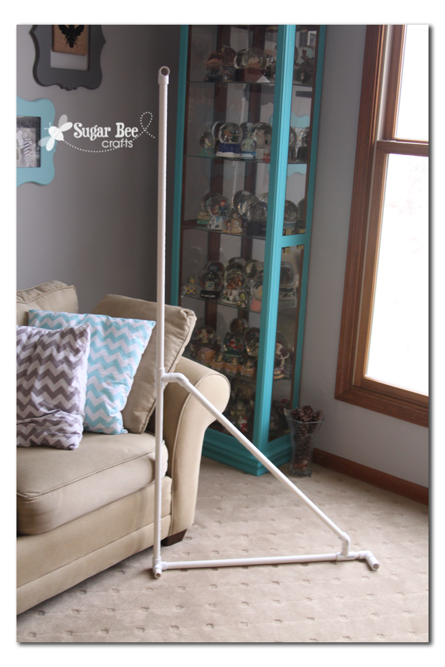 Diy Photo Backdrop Stand Sugar Bee Crafts