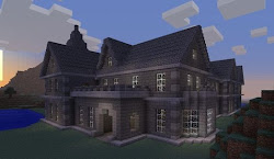 cool minecraft build builds things xbox edition pixel mansion console way