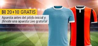 bwin promocion 10 euros Lazio vs Niza apuesta 20€ y llévate 10€ gratis 2 noviembre