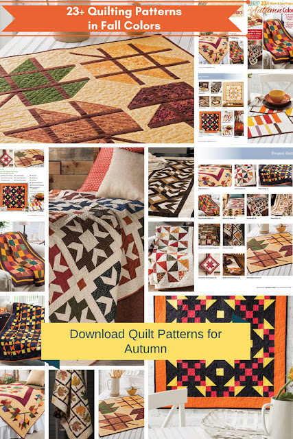 Quilt Patterns in Fall Colors