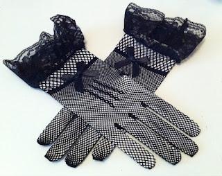 siyah file eldiven satın al nikah şapka eldiveni