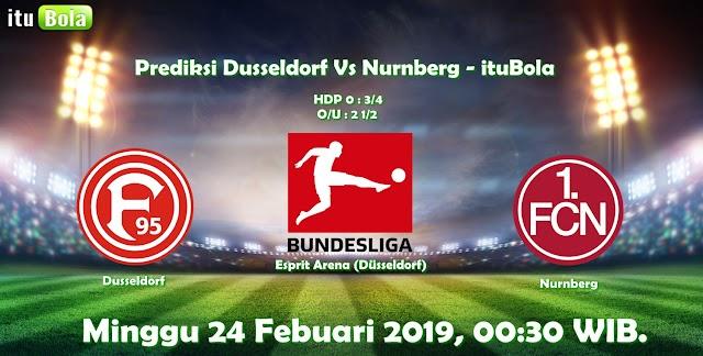 Prediksi Dusseldorf Vs Nurnberg - ituBola