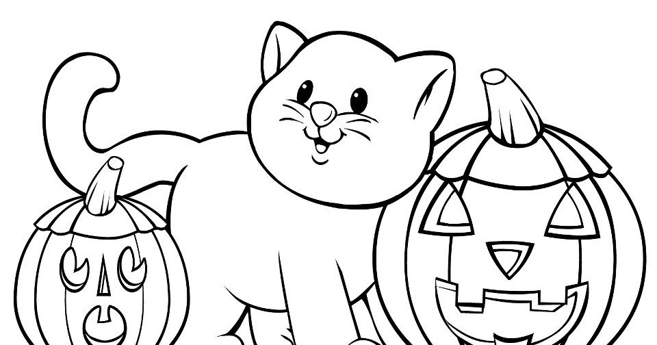 funny halloween coloring pages - photo#42