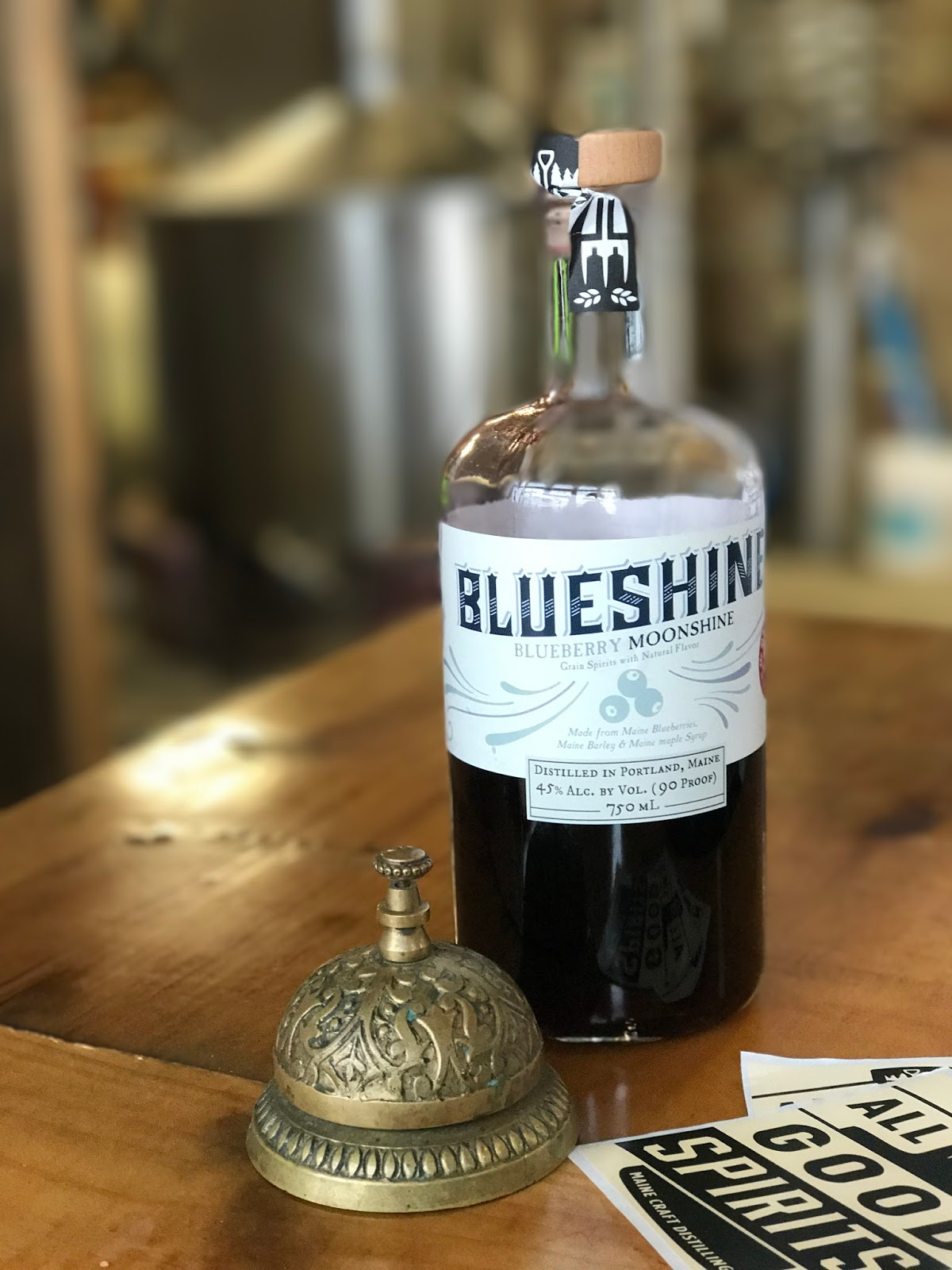 where to go in portland maine, distilleries in portland maine, blueberry flavored drinks