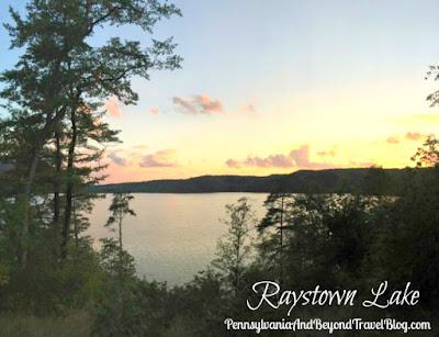 Raystown Lake in Huntingdon County, Pennsylvania