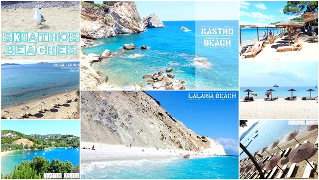 best Skiathos island beaches travel video