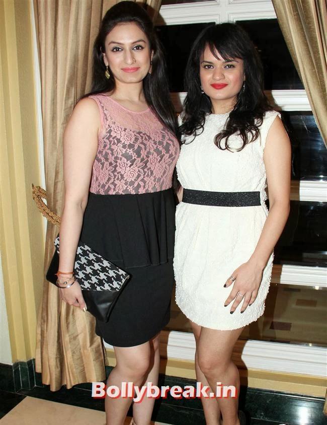 Akriti KAkkar and Aditi Singh Sharma, Anu Malik's Nephew 'Armaan Malik' Album Launch