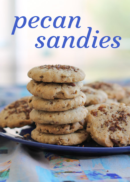 Buttery and rich with a delicious crunch of toasted pecans, these pecan sandies almost melt in your mouth as they leave a trail of sandy crumbs down your chin.