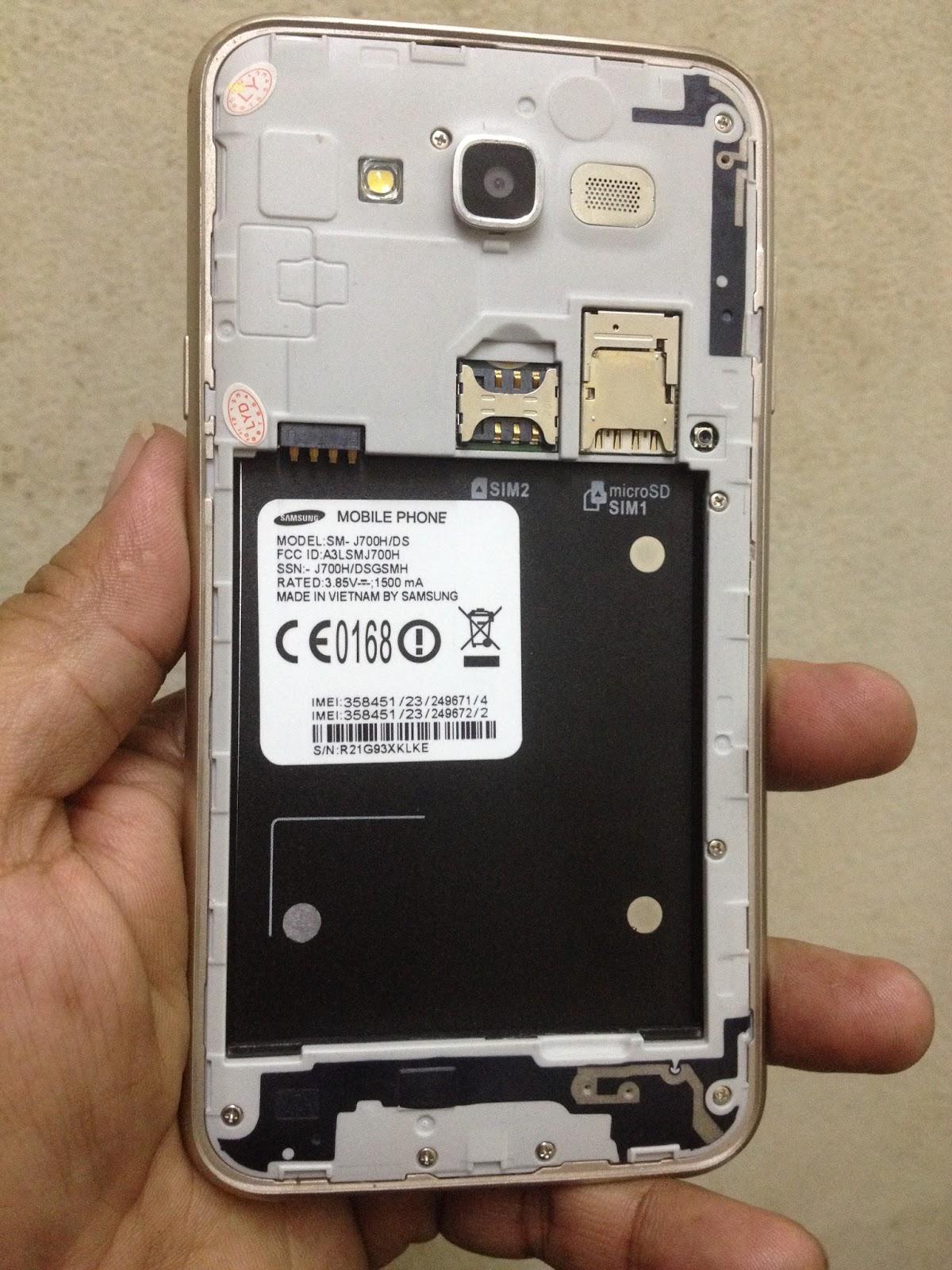 GSM Firmware BD: SM-J700H/DS MT6572 Clone Firmware