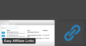 Easy Affiliate Links lets you track monthly and lifetime click