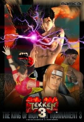 Tekken 3 Cover Art