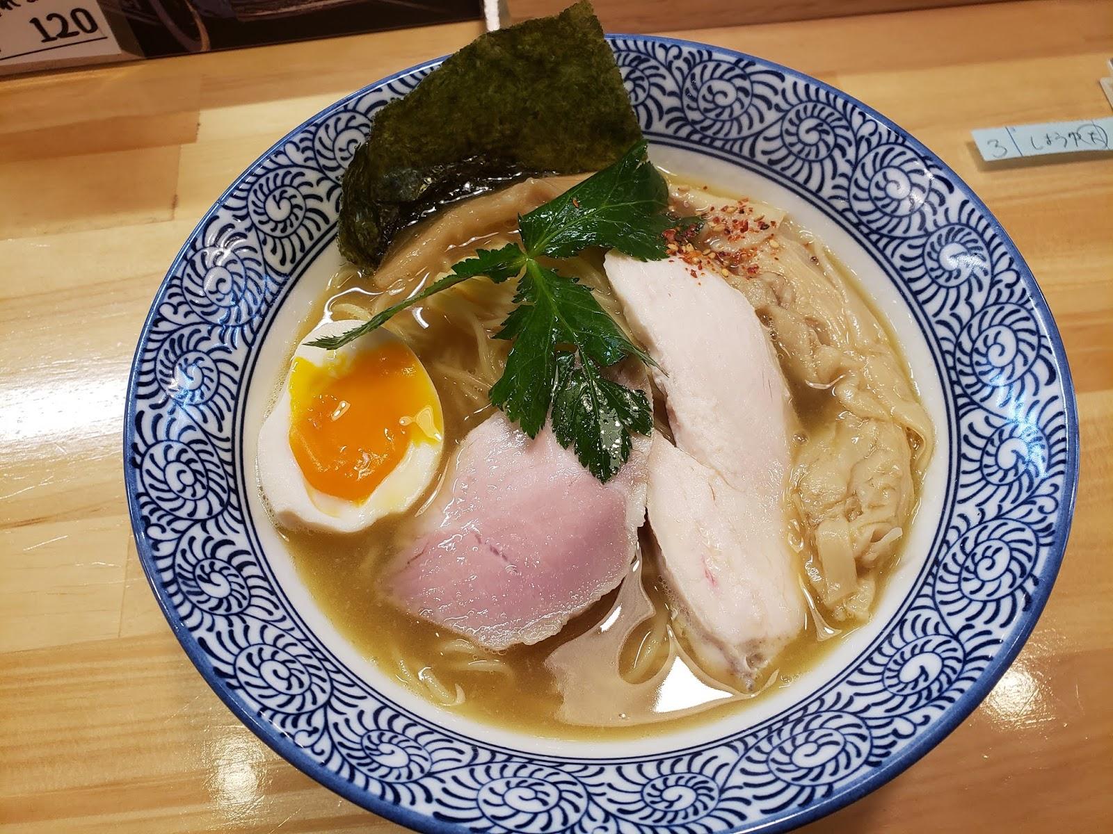 鶏白湯(中華そば 親孝行)