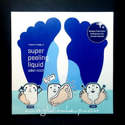 Review: Shiny Foot Super Peeling Liquid - Tonymoly