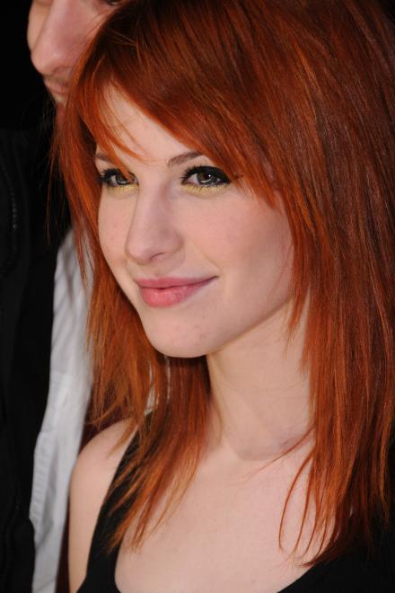 We Are Paramore Hayley Williams W Orange Brown Hair