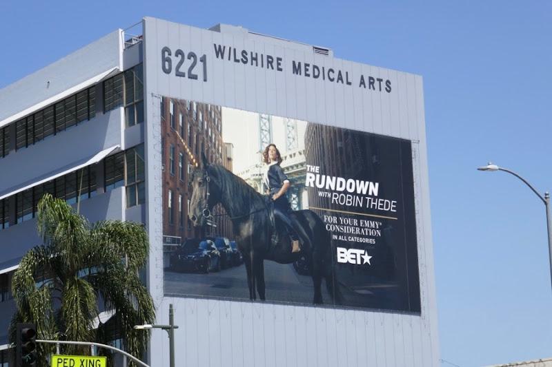 Rundown Robin Thede 2018 Emmy FYC billboard