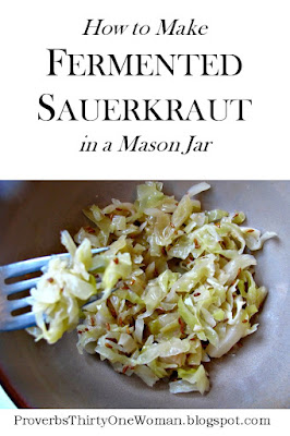 small batch sauerkraut