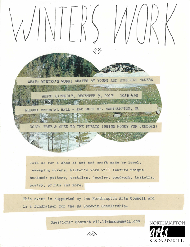 Winter's Work: Crafts by young and emerging makers