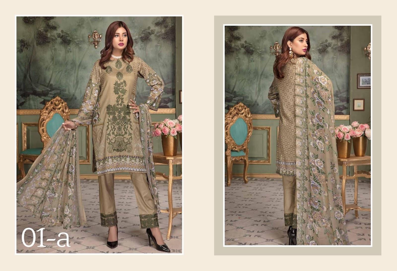 6ccffac601 4Seasons Fashion: Dawood Ayesha Samia Embroidered Lawn Collection ...