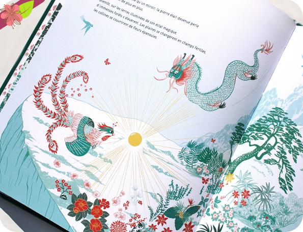 Le dragon et le phénix de Sophie Kœchlin et Peggy Nille - Gautier-Languereau