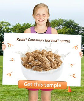 Free sample of kashi cereal or granola bar thrifty nw mom.