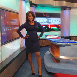 A Body Hugging Dress Exposes Lilian Muli's Well Rounded Booty