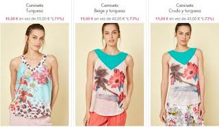 camisetas para mujer Smash