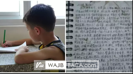 Sebelum Nekat Bunuh Diri, Bocah Ini Tulis Surat Untuk Ayahnya yang Menyayat Hati