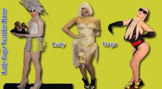 Trajes de lady gaga