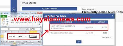 Bagaimana cara menghitung pembayaran fee dari empowr?