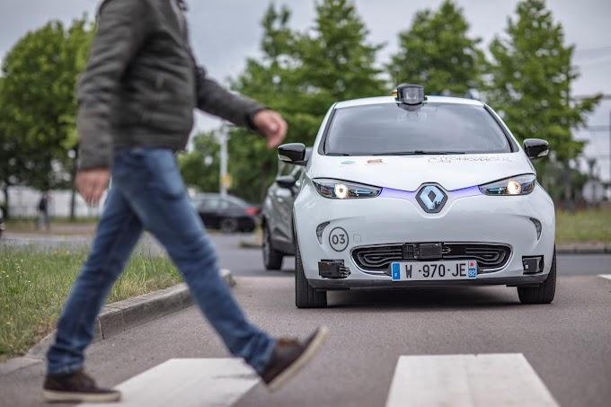 Renault socio del proyecto Rouen Normandy Autonomous Lab