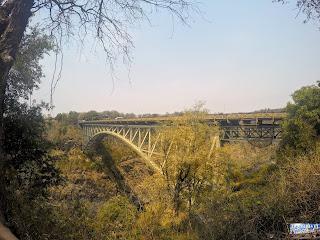 Chute Victoria Frontière Zambie Zimbabwe