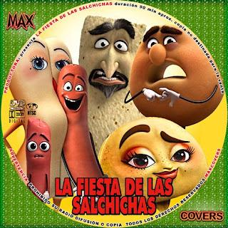 La fiesta de las salchichas Galleta V2 Maxcovers
