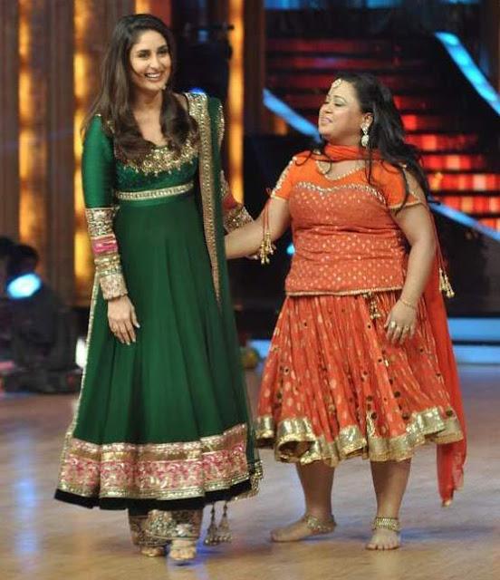 Buy Kareena Kapoor Cream N Green Anarkali Suit ...  |Kareena In Green Anarkali Dress