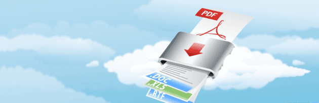 Convierte archivos PDF escaneados a word gratis.