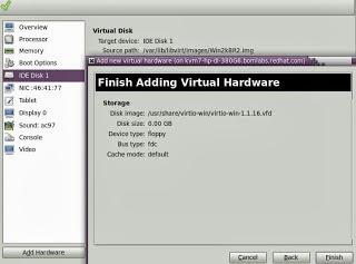Prakash Sawarkar: Setting up RHEL /CentOS Virtio Drivers for Windows