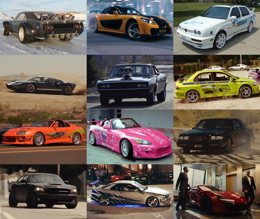 Every Car From The Fast And The Furious Ranked - #IHeartHollywood