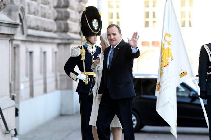 Stefan Lofven: Sweden's parliament removes prime minister