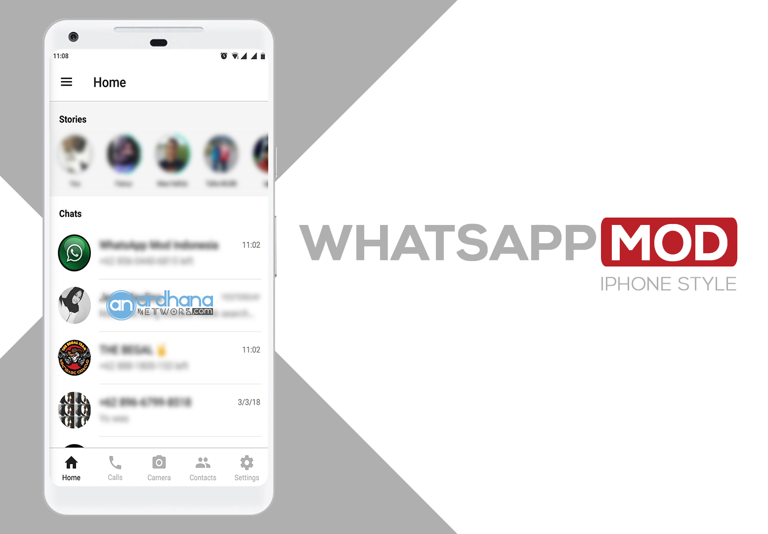 Whatsapp MOD V2.17.425 - iPhone Style