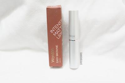 Wardah Intense Matte Lipstick Easy Brownie